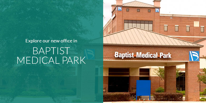 Explore the Baptist Medical Park office