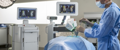 Now Offering Robotic Spine Surgery with Mazor X